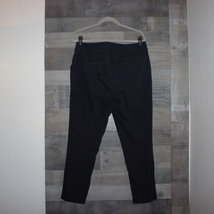 Ann Taylor Loft Marisa Skinny Black Pants 12